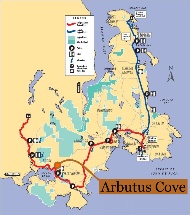 Arbutus cove b b guesthouse and cottages sooke for Location b b france