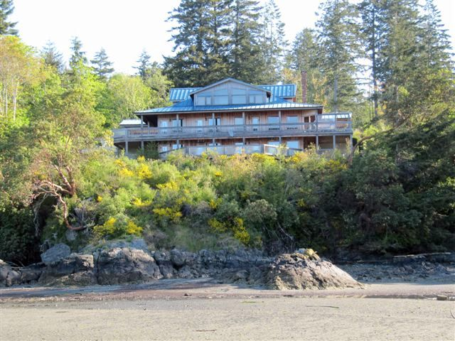 view of Arbutus Cove Bed and Breakfast from the waterfront